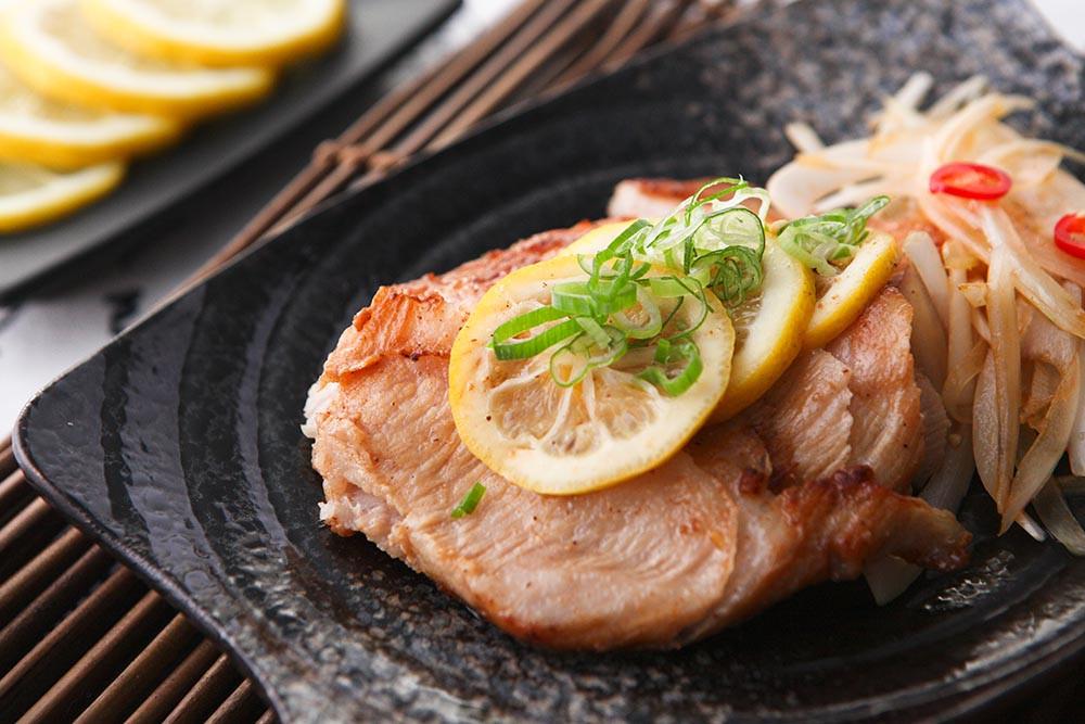 <湯瑪仕美人養成料理>檸檬椒鹽松板豬