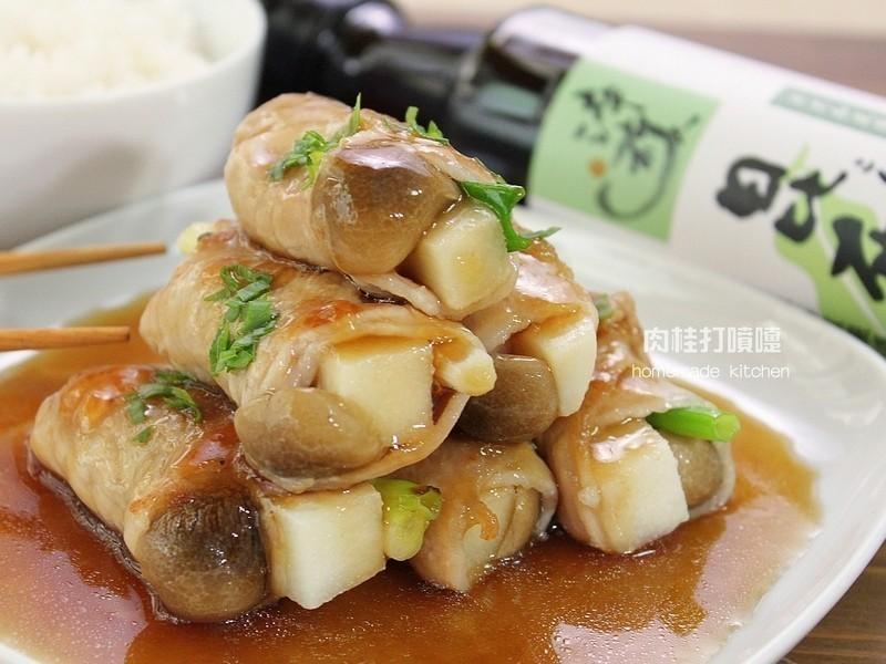 醬淋竹筍肉捲【淬釀節氣食譜】
