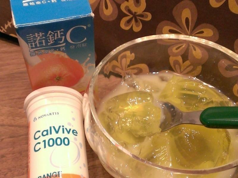煉乳C凍『諾鈣C發泡錠』