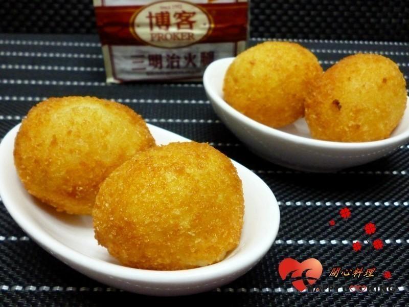 乳酪薯球【博客原味火腿】