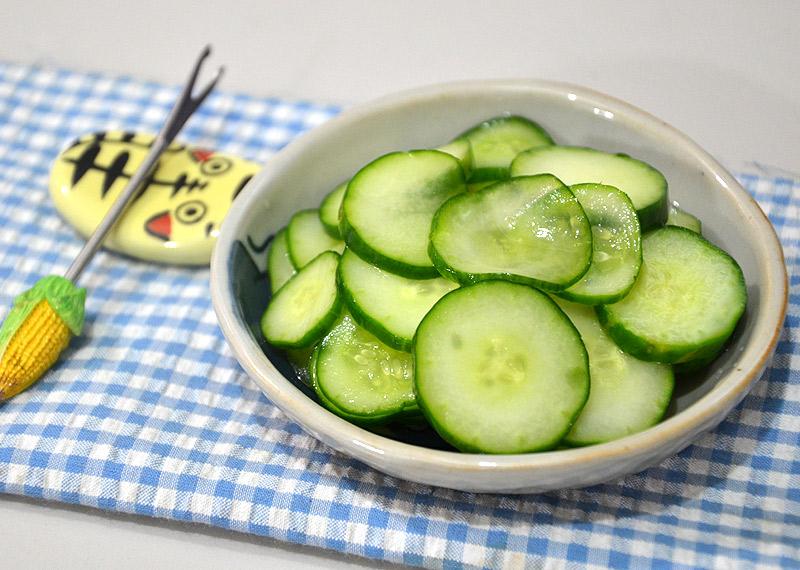 [awei料理]日式涼拌小黃瓜_鳳梨醋版