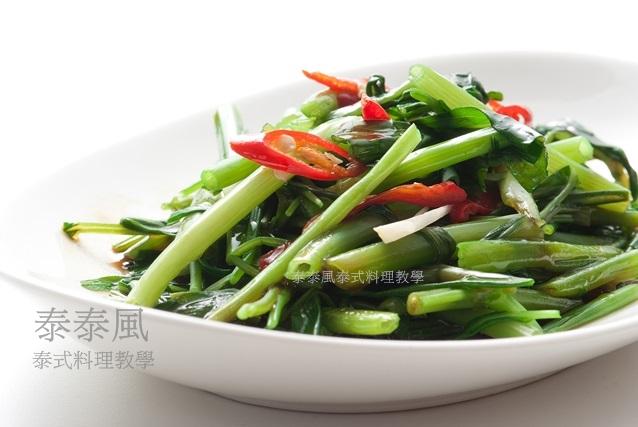 蝦醬炒空心菜 也認識一下蝦膏和蝦醬的不同
