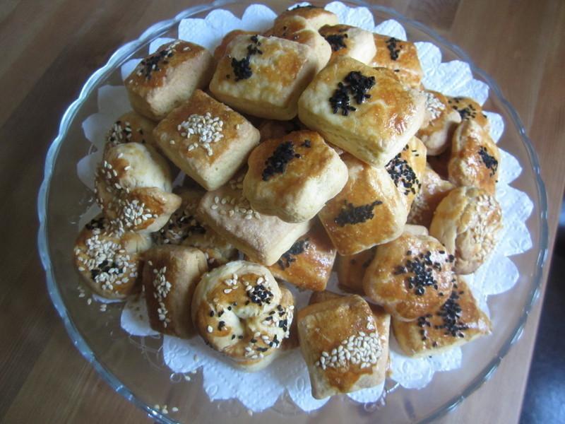 土式芝麻茴香鹹餅乾