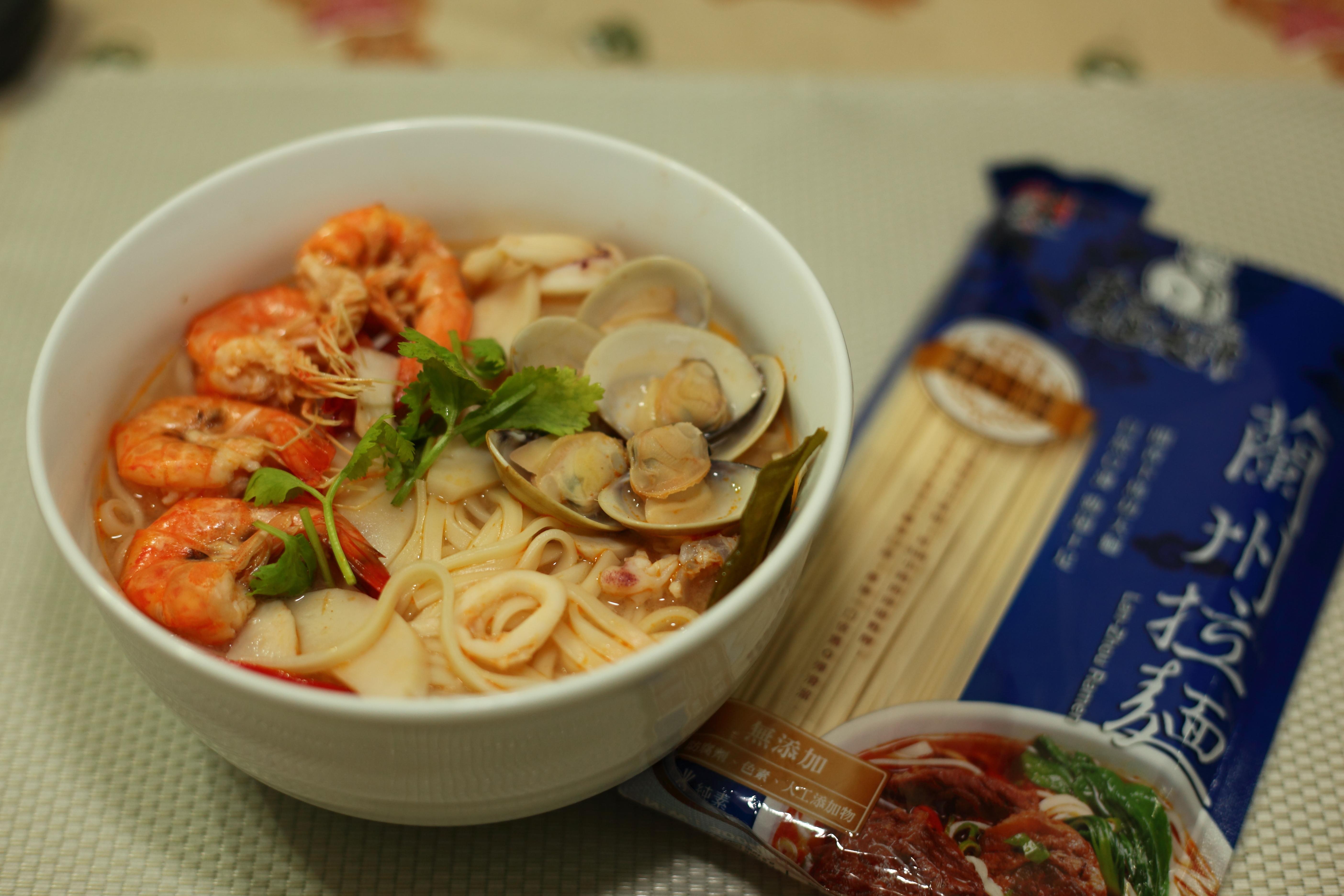 泰式海鮮酸辣湯麵『五木麵條』