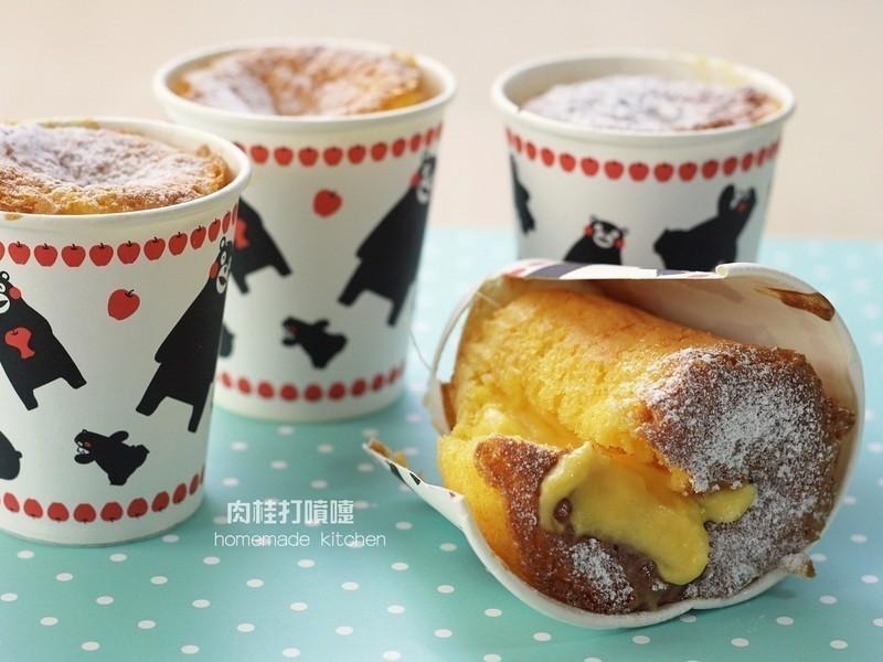 濃郁煉乳杯子蛋糕
