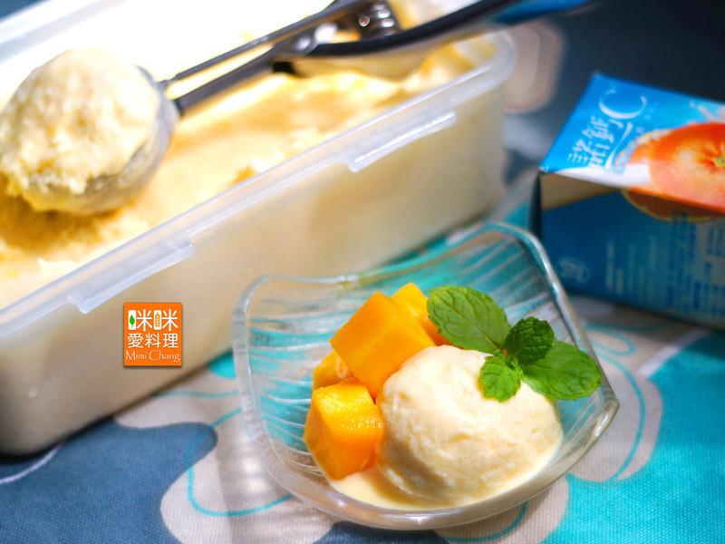 Mimi♥芒果冰淇淋『諾鈣C發泡錠』