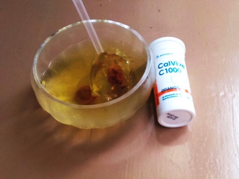 酸梅CC凍『諾鈣C發泡錠』