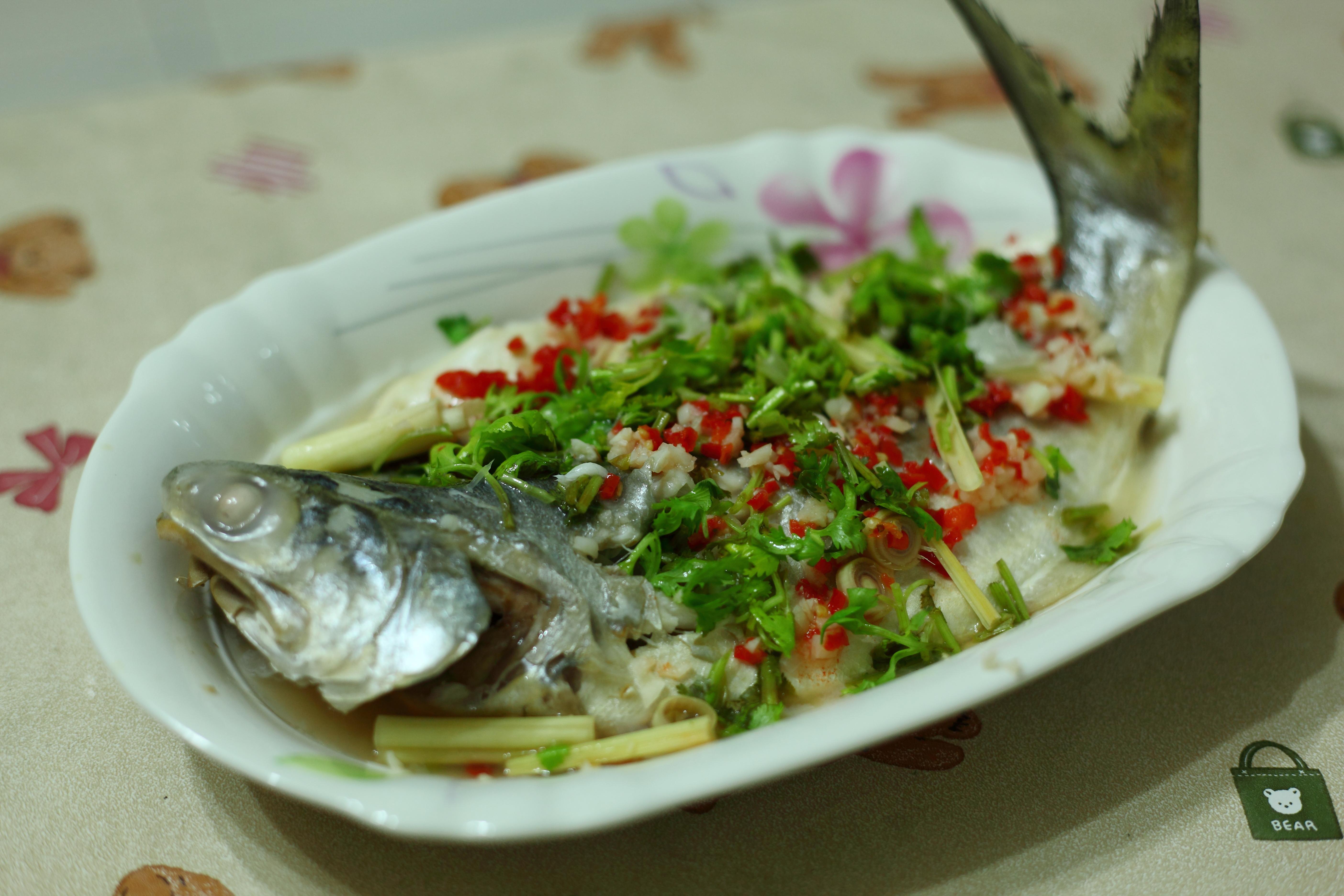 [海鮮]泰式清蒸檸檬魚