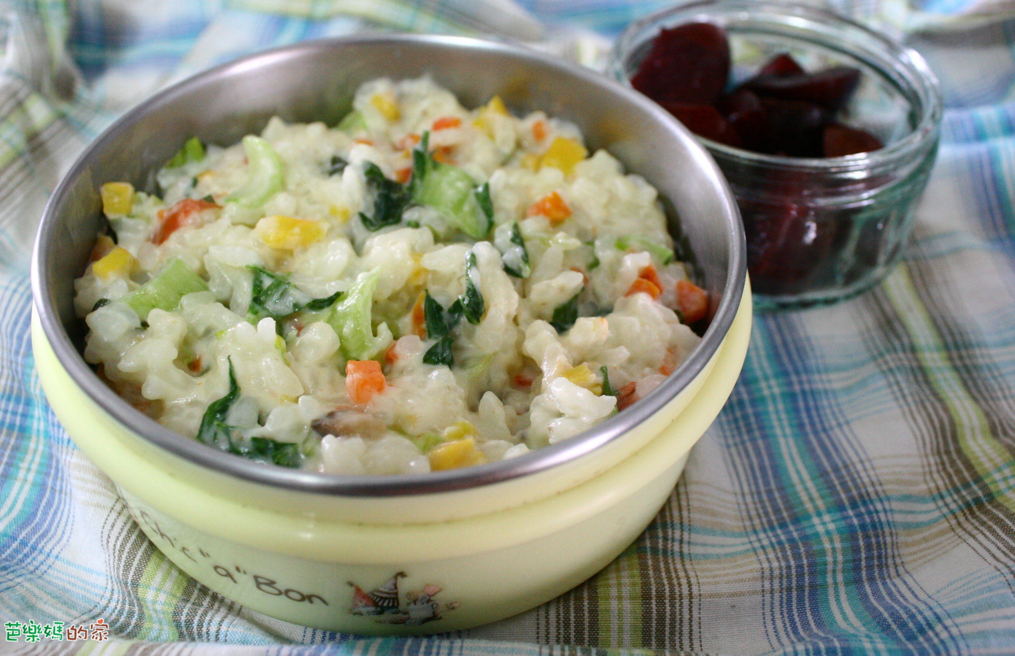 素食副食品-蔬菜牛奶燉飯