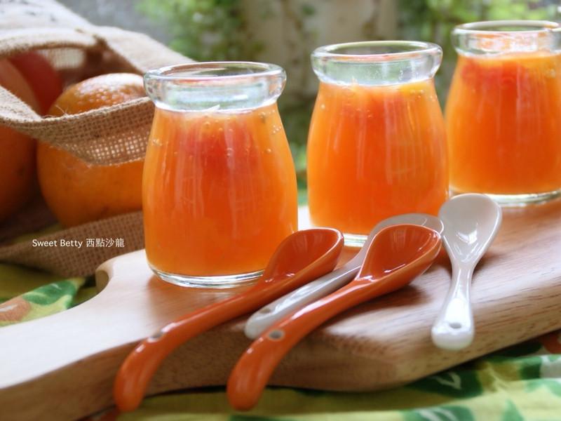 香橙葡萄柚果凍