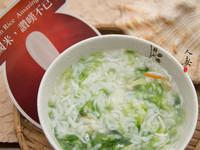 米食料理-海藻吻魚粥(美國米)