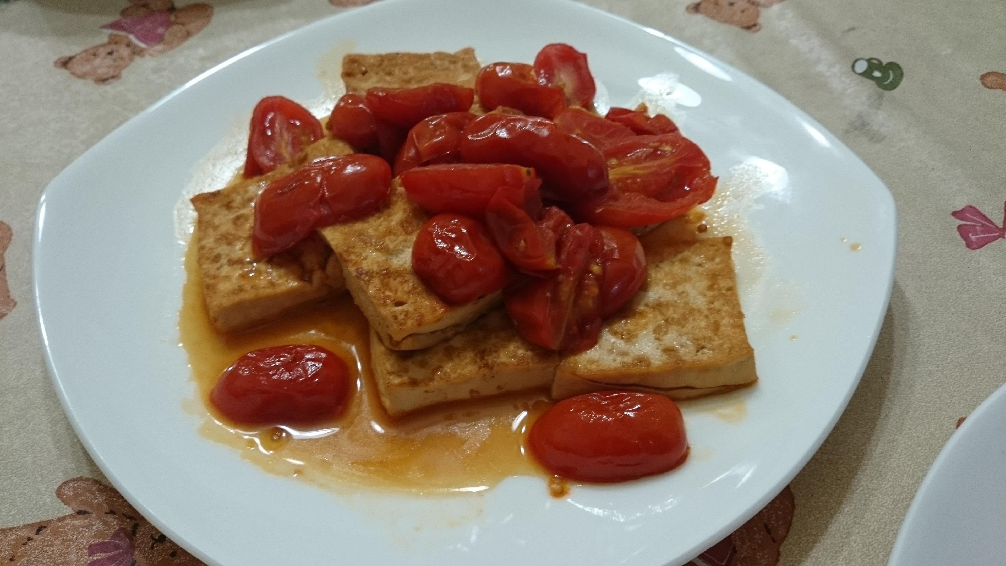 [豆腐]蕃茄燒豆腐
