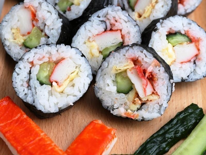 新手分享-- 壽司!!