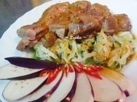 芒果香蔬烤雞