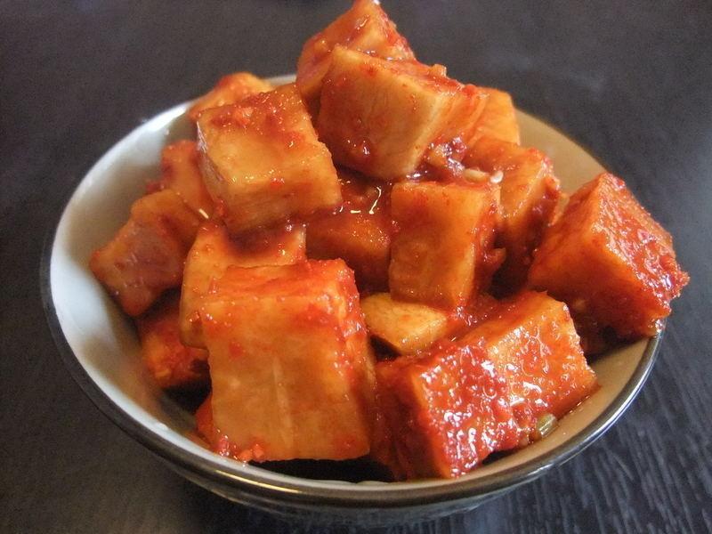 <韓式辣蘿蔔>