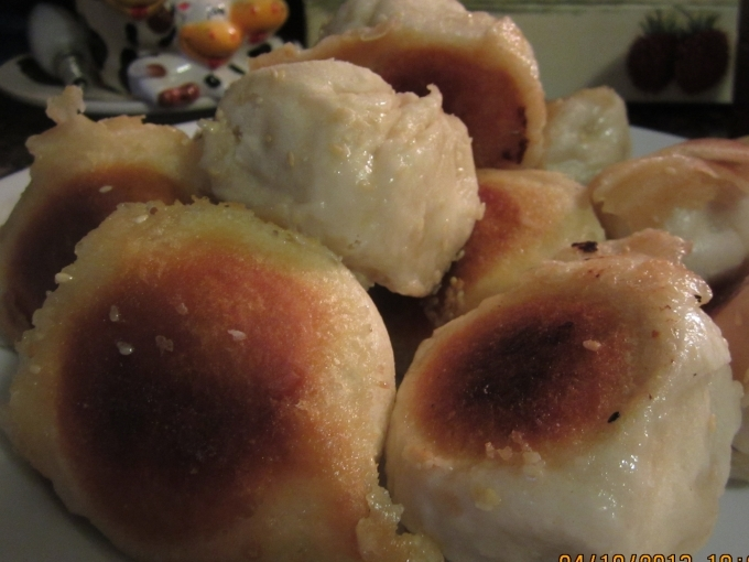 中式麵點4---高麗菜鮮肉水煎包
