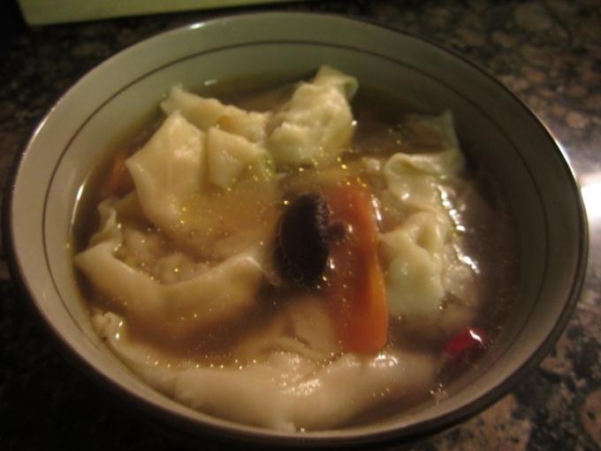 中式麵點9---安卡拉菜肉大餛飩