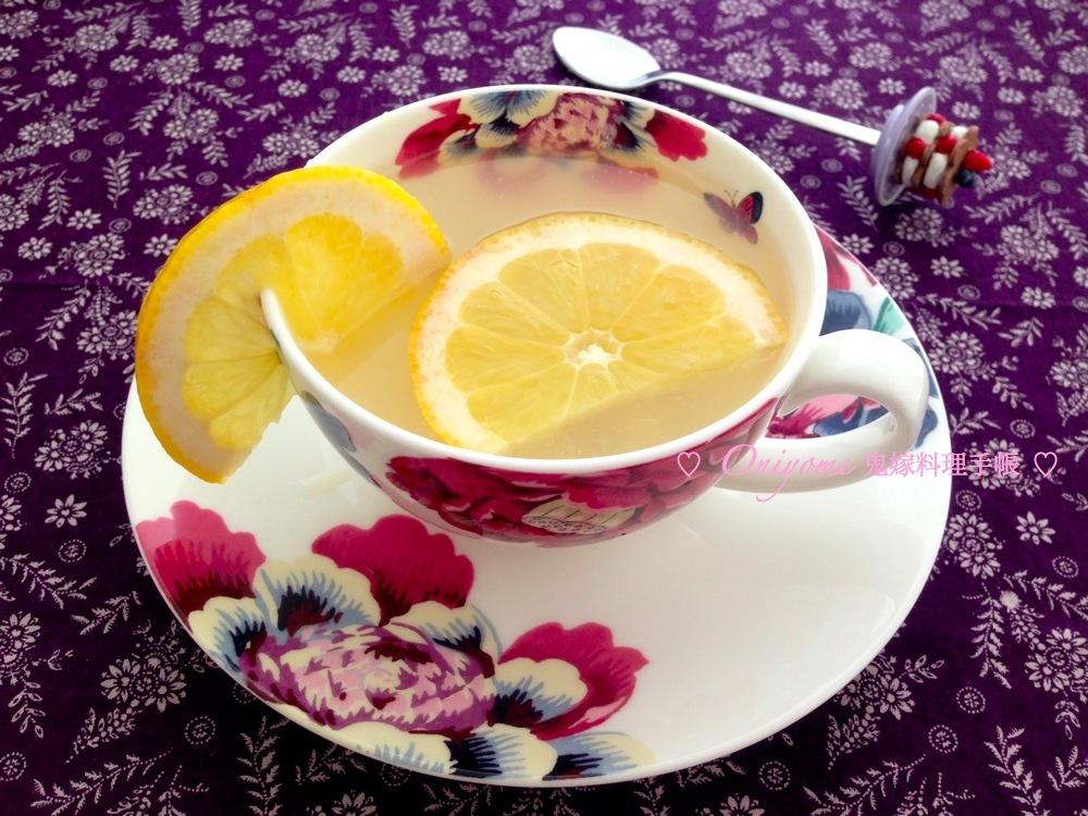 檸檬薏米水 ﹣ 美白消腫排毒好幫手