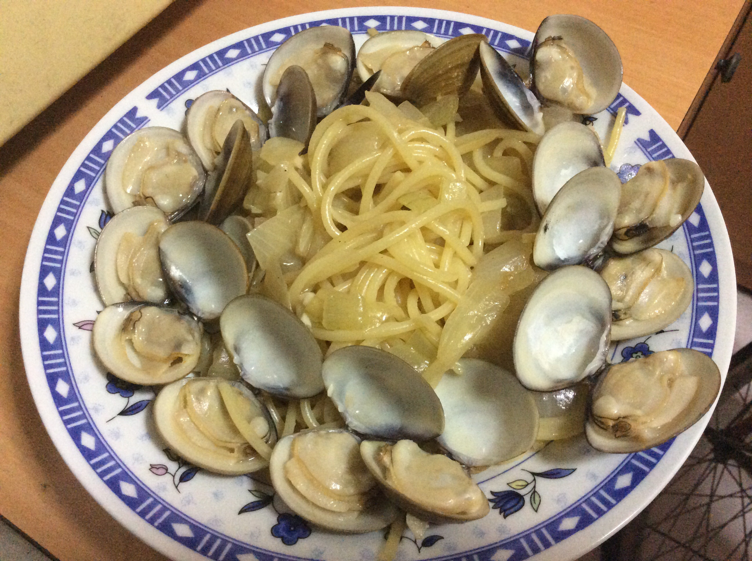 米酒蛤蜊義大利麵