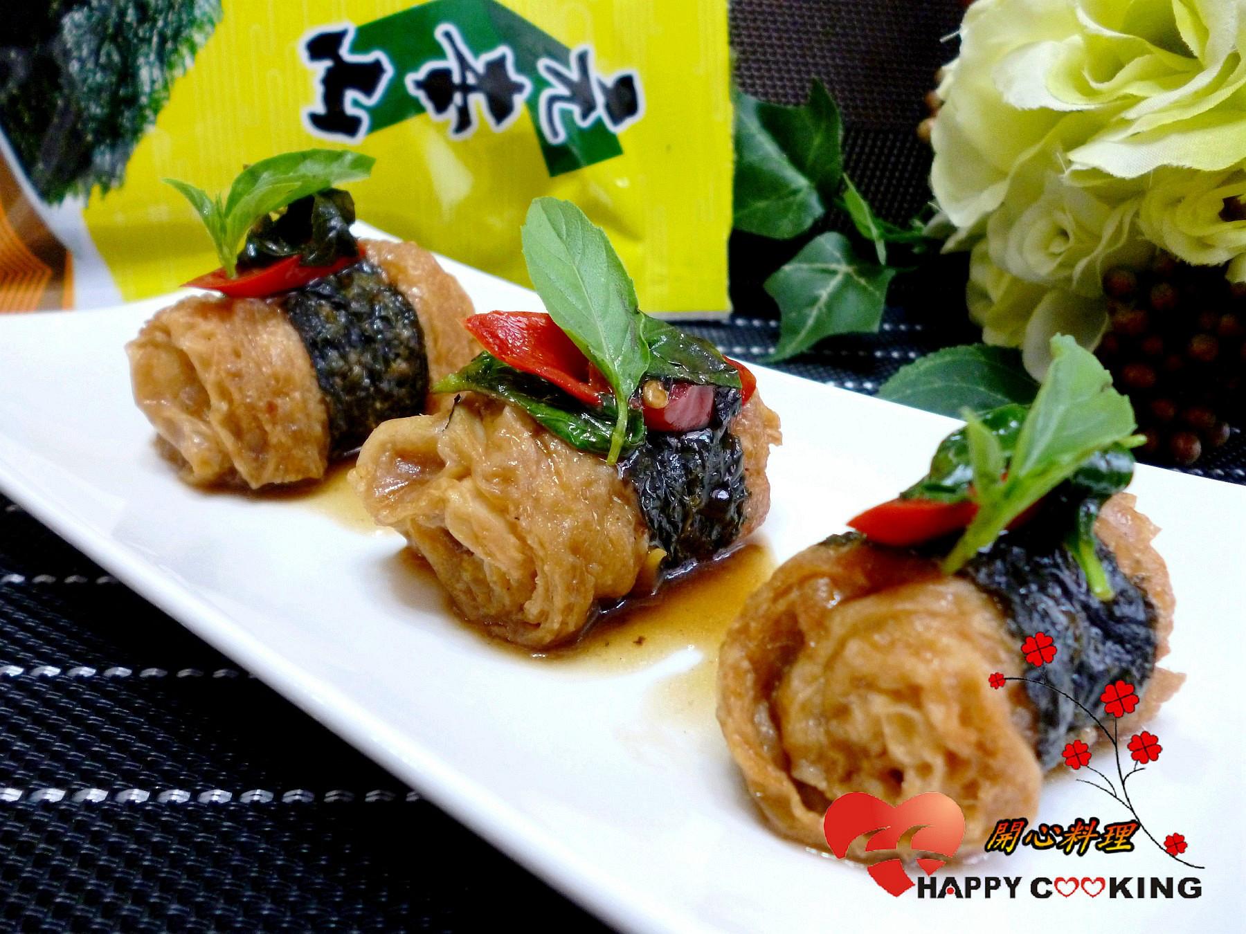 三杯豆包捲(可素食)「元本山海苔」