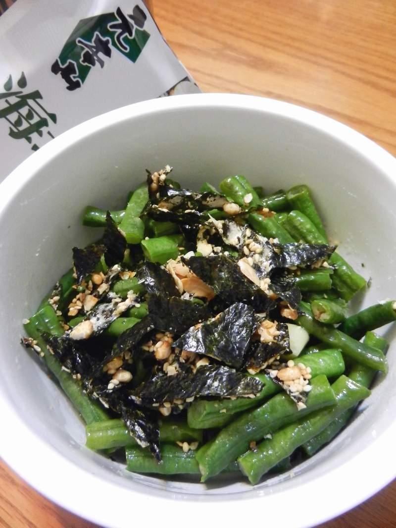 海苔堅果豆豆【元本山海苔】
