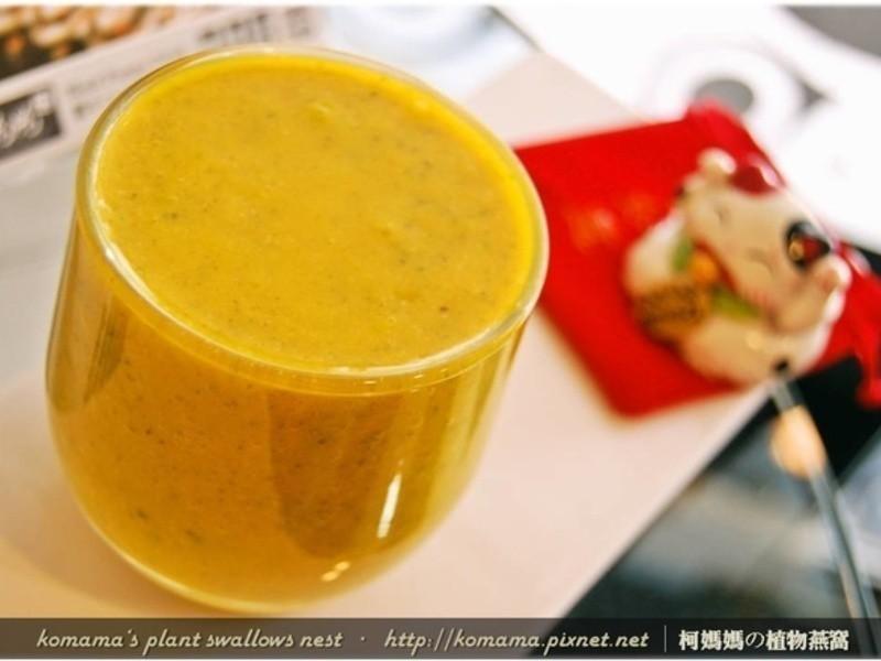 黑木耳奶香南瓜汁.柯媽媽の植物燕窩