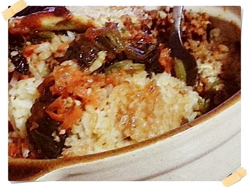 韓式石鍋拌飯(有鍋巴陶鍋版)