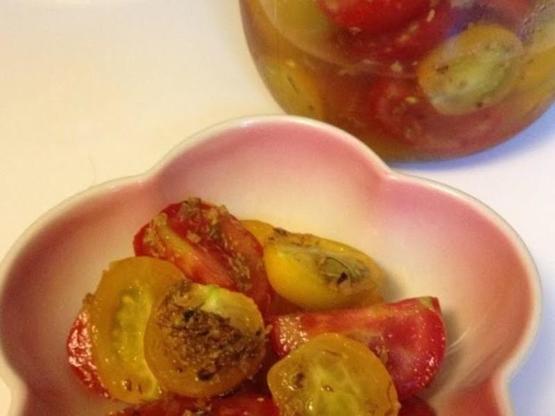 涼拌:桂花糖漬小蕃茄