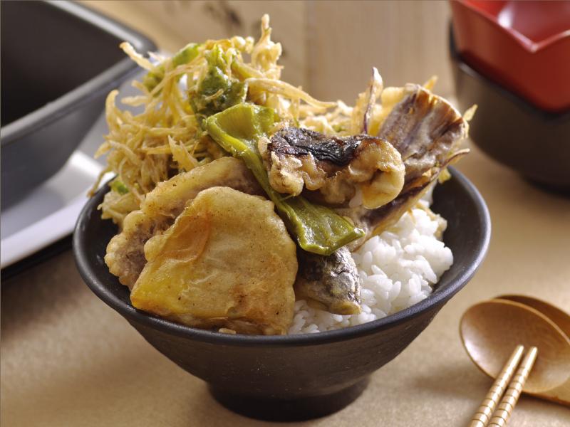 蔬菜天婦羅丼