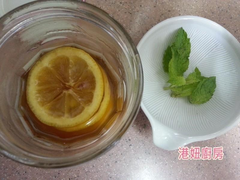 [港妞廚房] 清涼滋潤 薄荷蜂蜜漬檸檬水