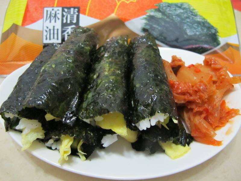 韓式飯捲김밥『元本山海苔』