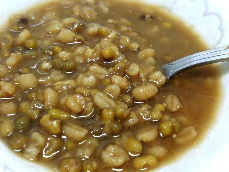 綠豆大麥仁湯(悶燒鍋)