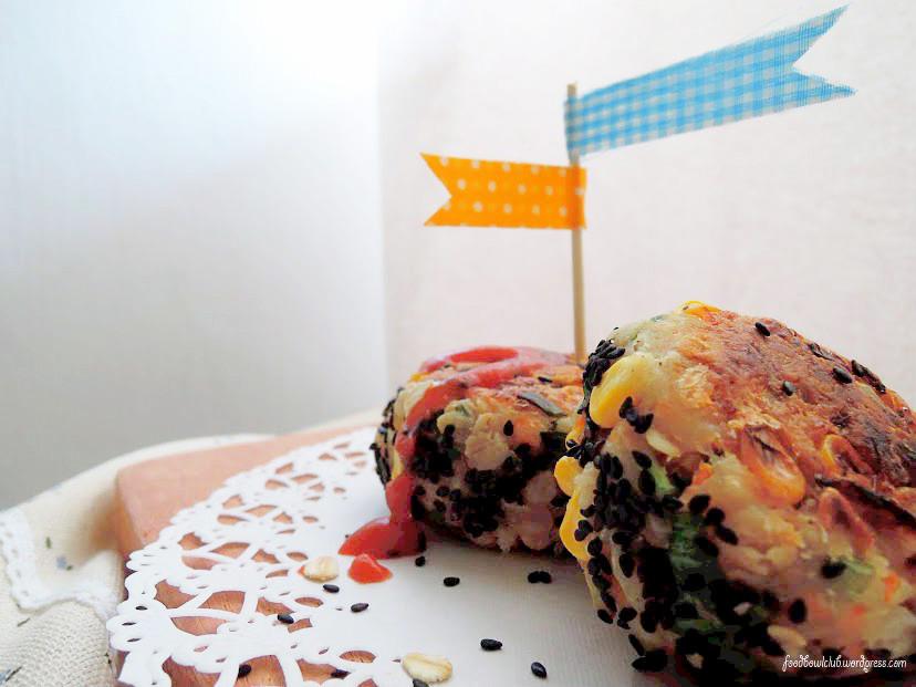 [芝麻莲藕煎饼] - 全素菜版