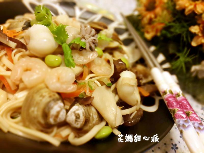 總匯海鮮炒麵