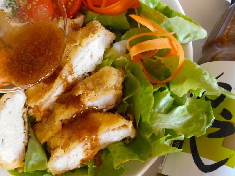 芥子脆鮮綠健康雞肉沙拉【穀盛芥子脆鮮綠】