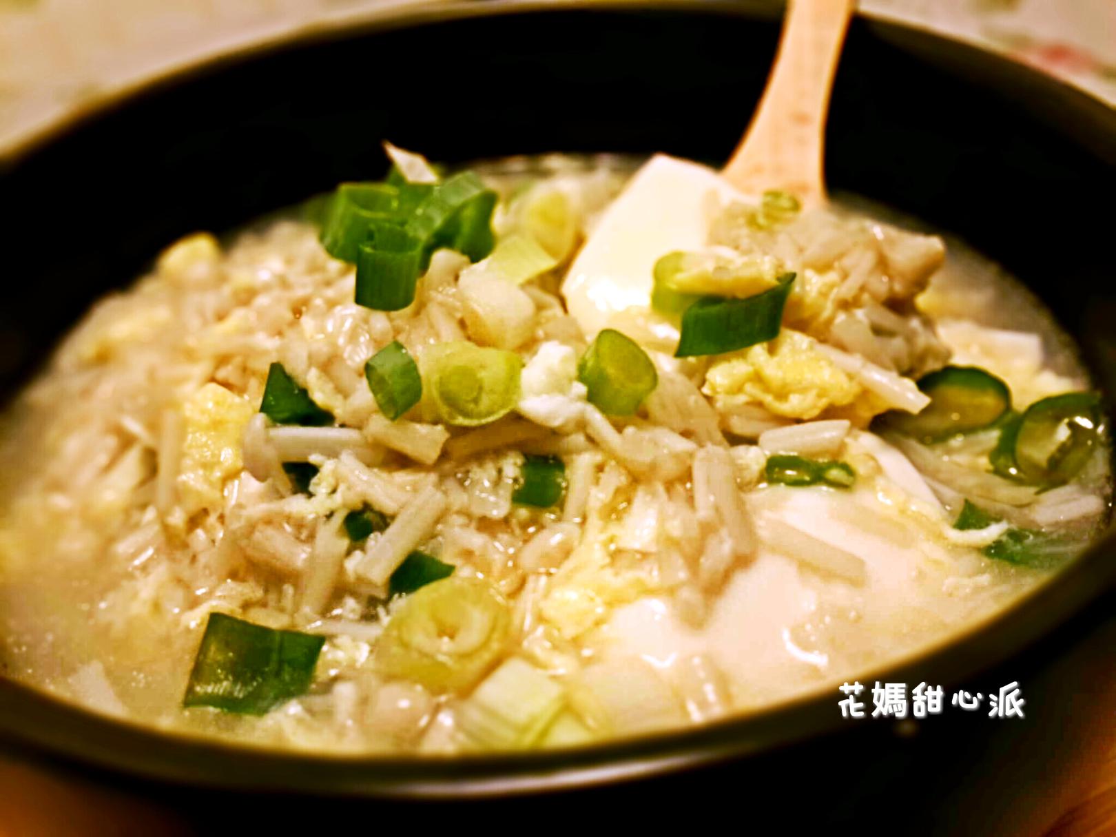 滑蛋金針燴豆腐
