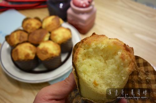 橙味櫻桃小蛋糕 Muffin