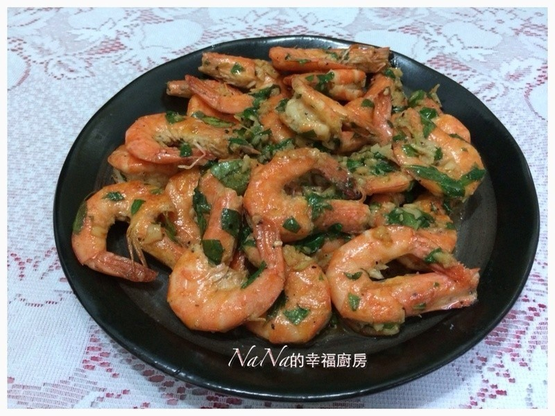 奶油香蒜蝦
