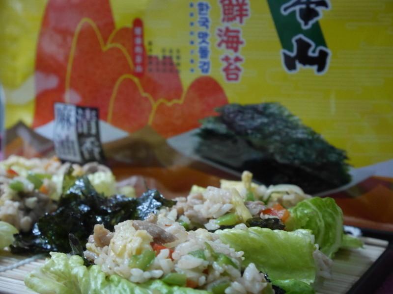 蘿蔓海苔卷「元本山海苔」