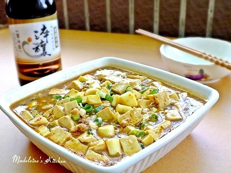 麻婆茭白筍豆腐【淬釀節氣食譜】