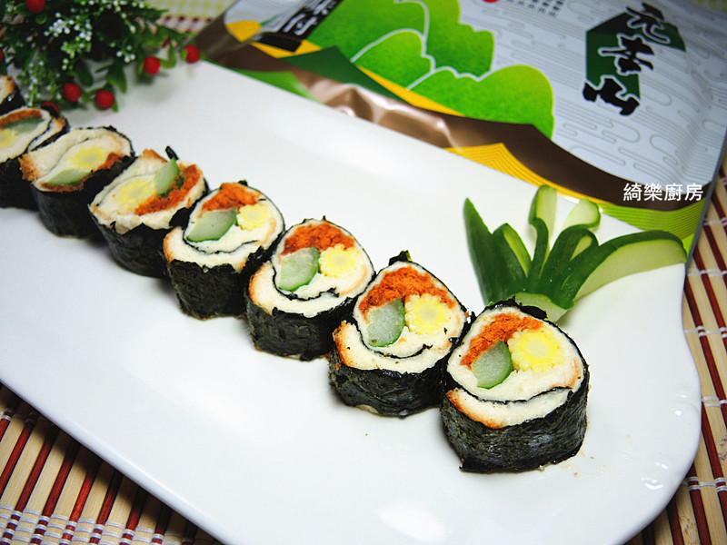 海苔土司壽司【元本山海苔】