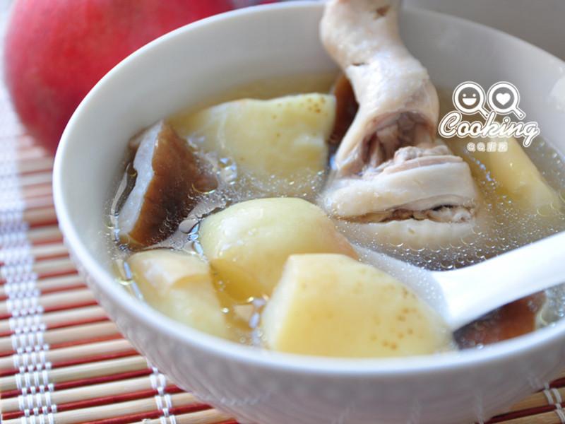 蜜桃香菇雞湯【我與大同的美味燉湯】