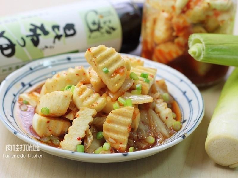 夏日限定茭白筍泡菜【淬釀節氣食譜】