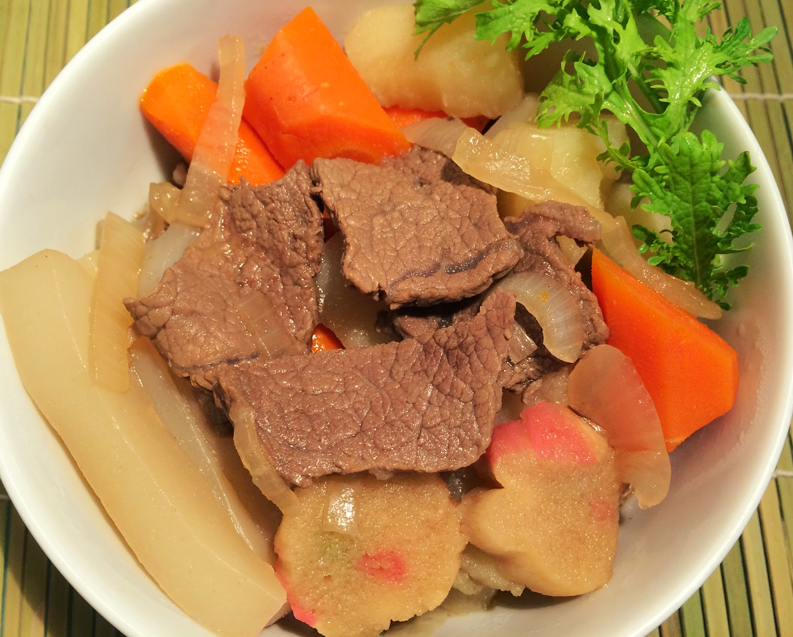 日式馬鈴薯燉肉 肉じゃが