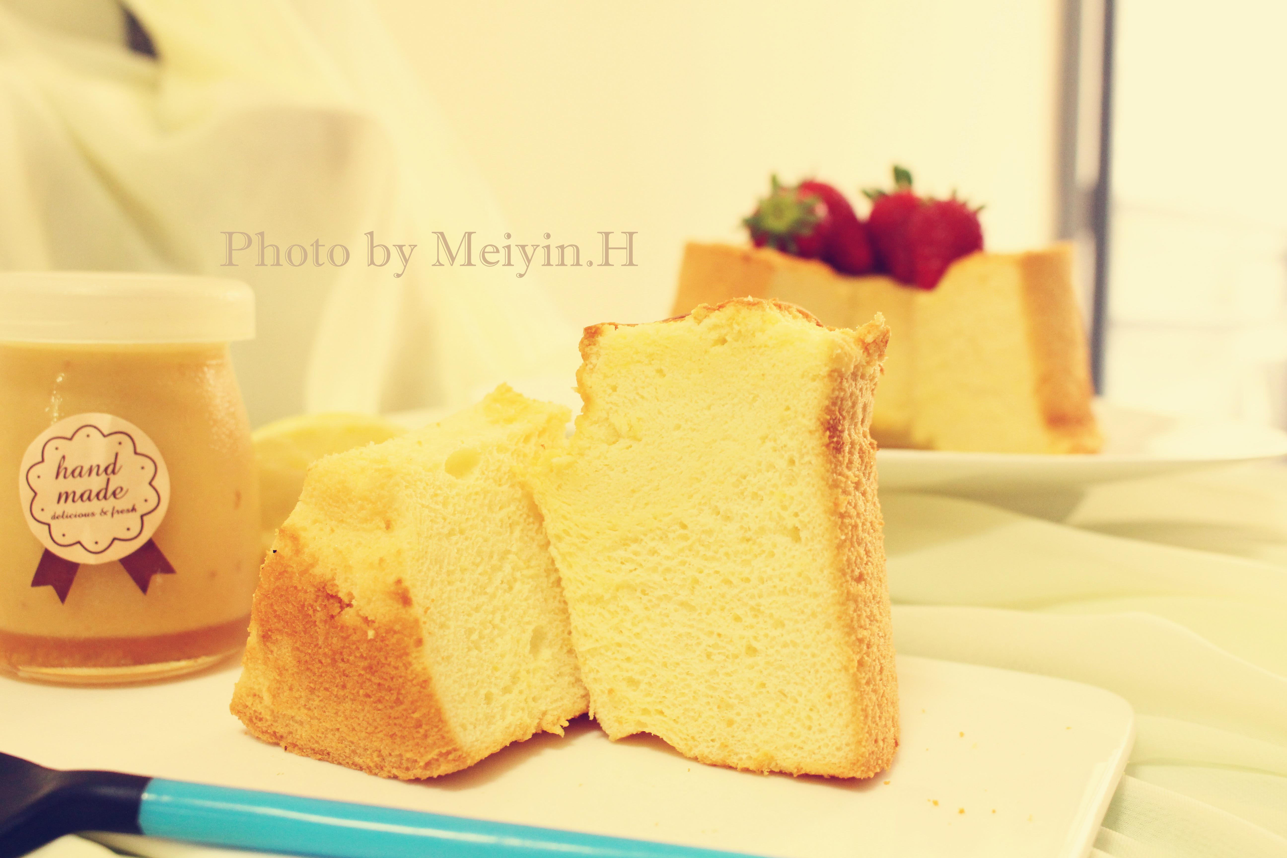 檸檬蜂蜜戚風蛋糕