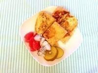 お家cafe-蜂蜜肉桂法式土司
