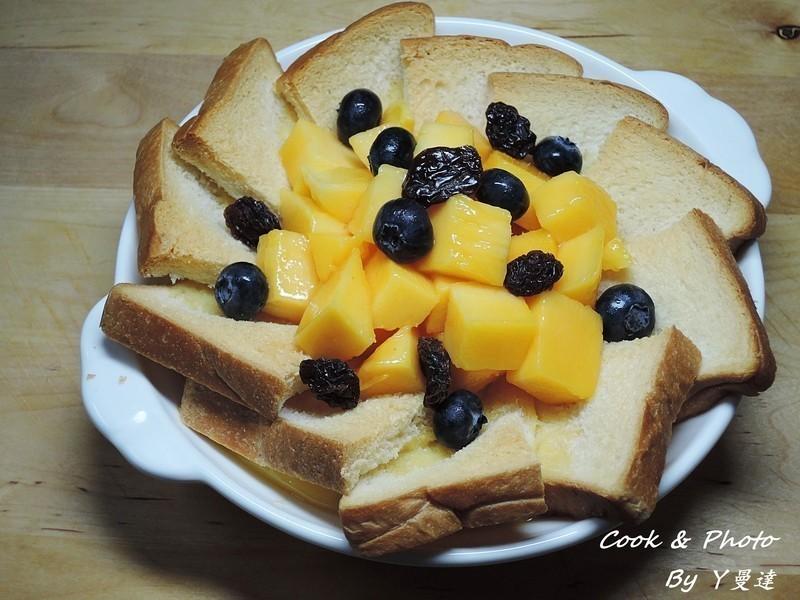 芒果麵包布丁