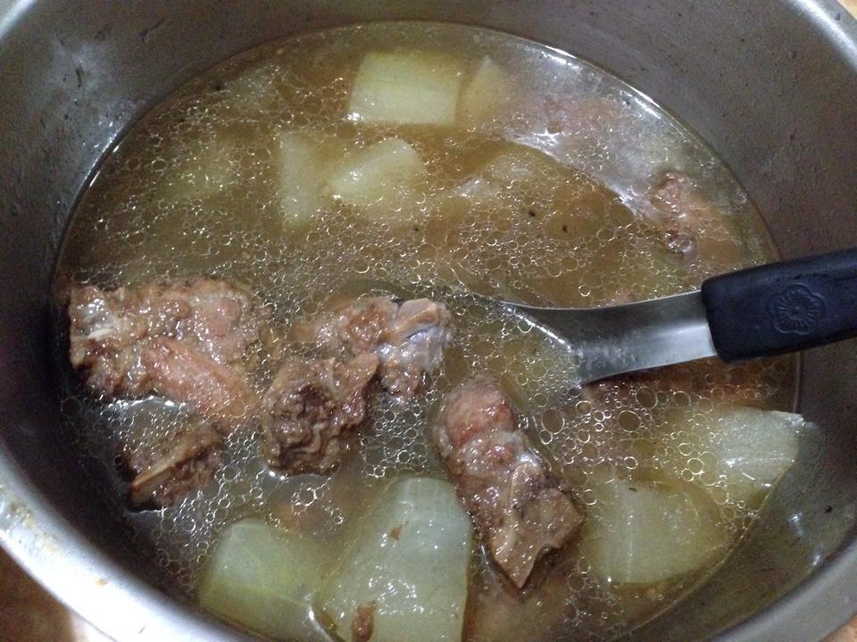 超好喝❤蘿蔔冬瓜排骨酥湯