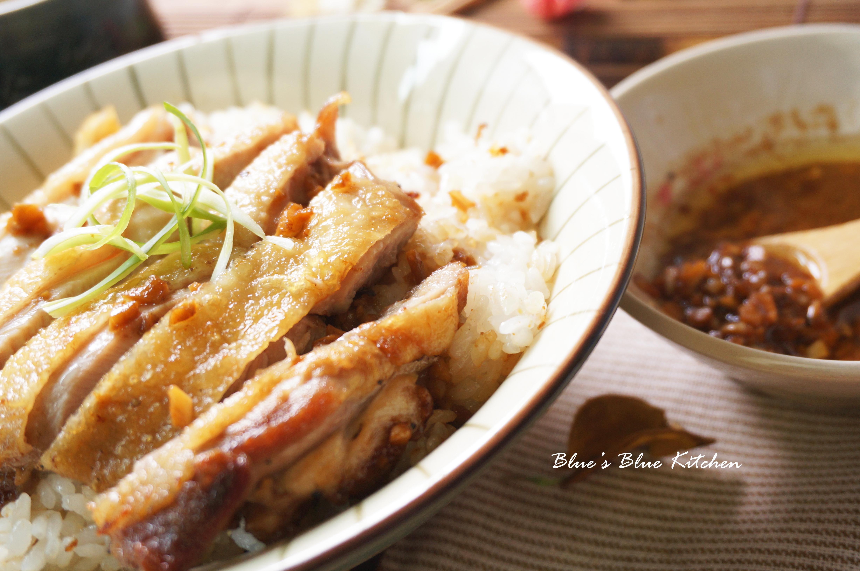 脆皮雞腿排x蒜味醬拌飯