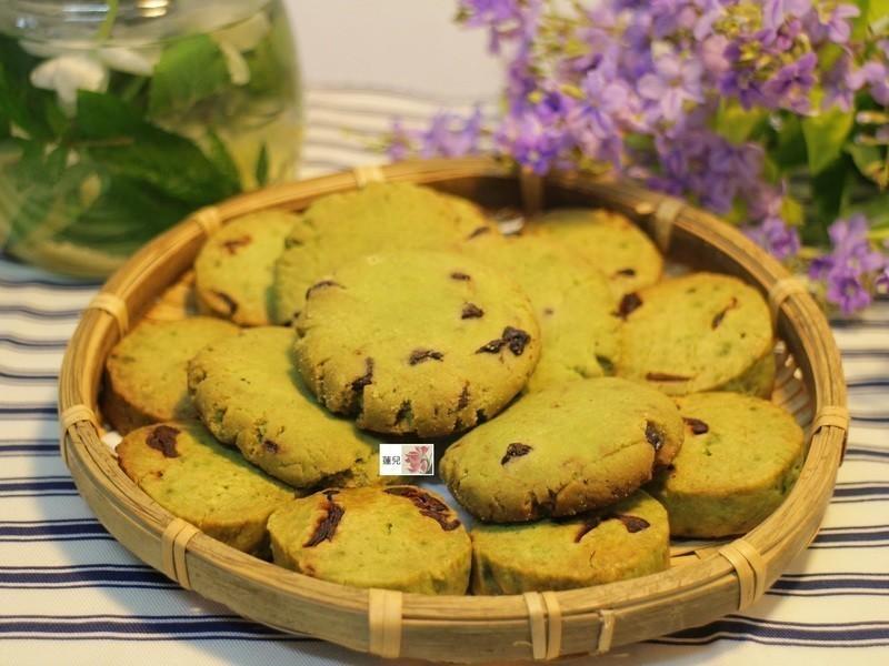 抹茶巧克力豆、蔓越莓餅乾